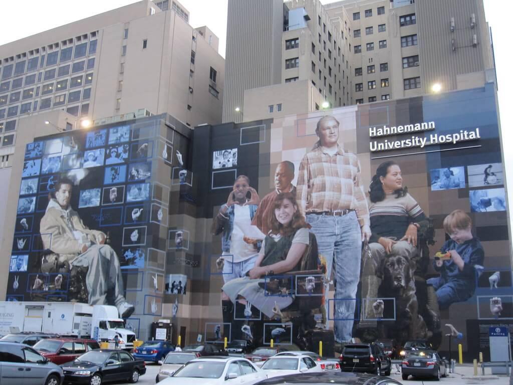 Hahnemann University Hospital in Philadelphia, Pa.