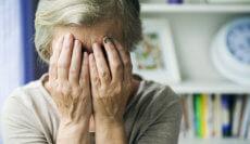 Abused nursing home patient